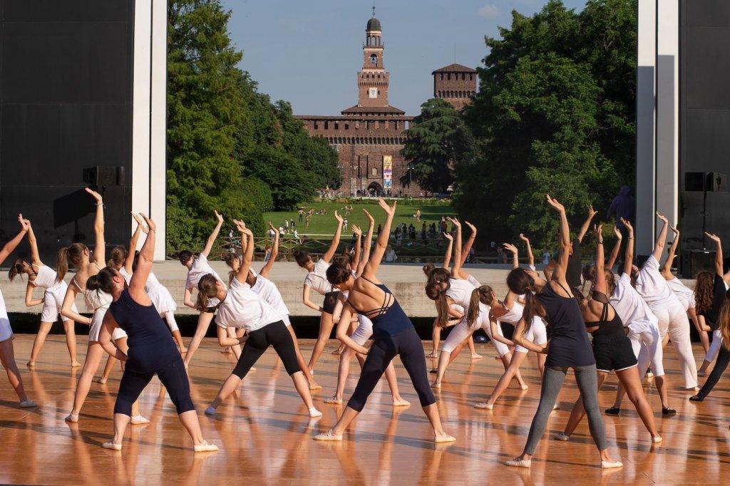 contemporary dance burri milano