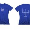 T-shirt donna – blu