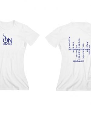 T-shirt donna – bianca