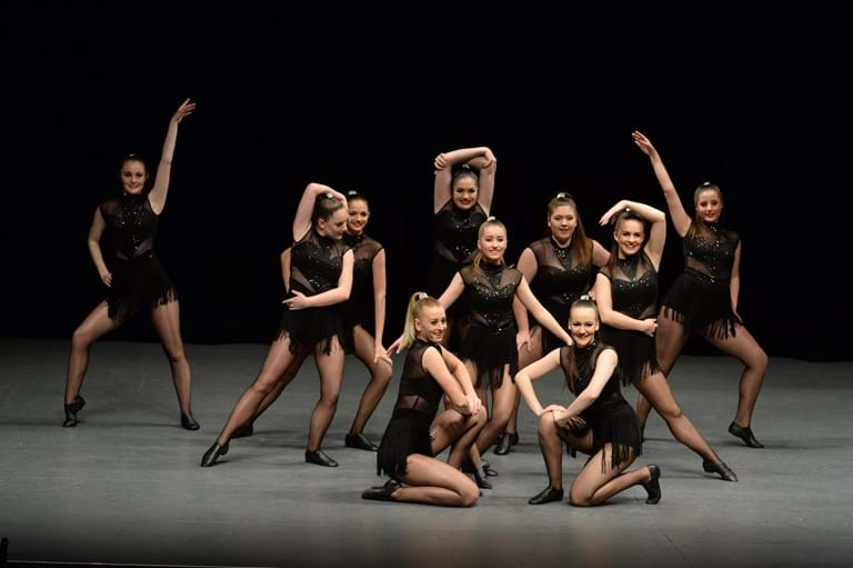 modern jazz dance